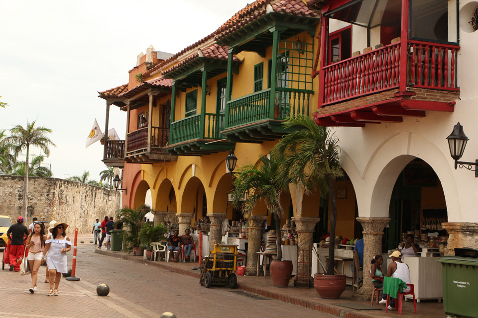 Cartagena: historical center is under Unesco protection