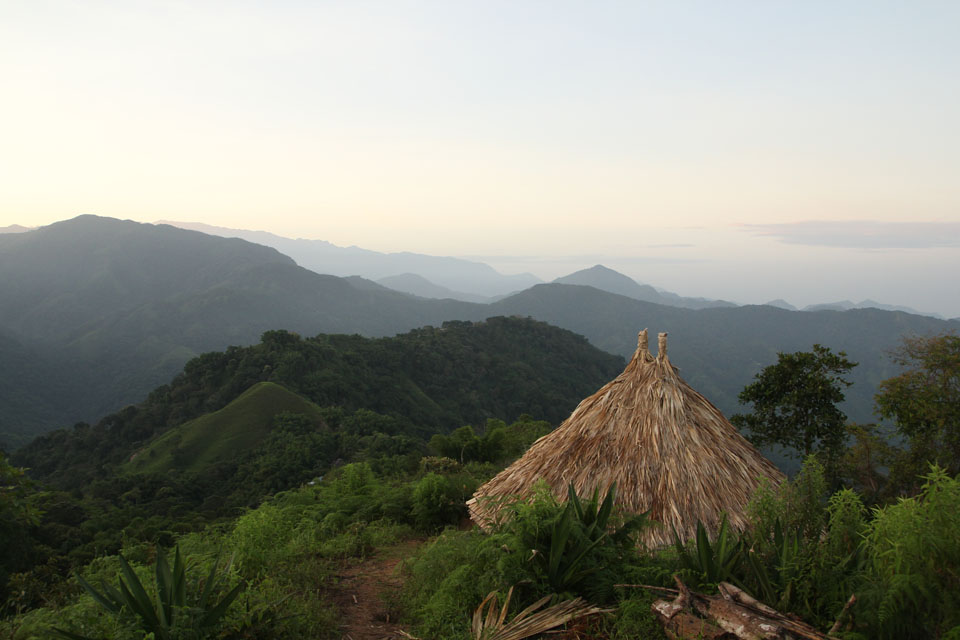 Sierra Nevada de Santa Marta: we slept one night under this roof